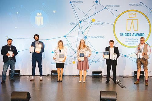 MED-EL receives the TIGROS Austrian award.