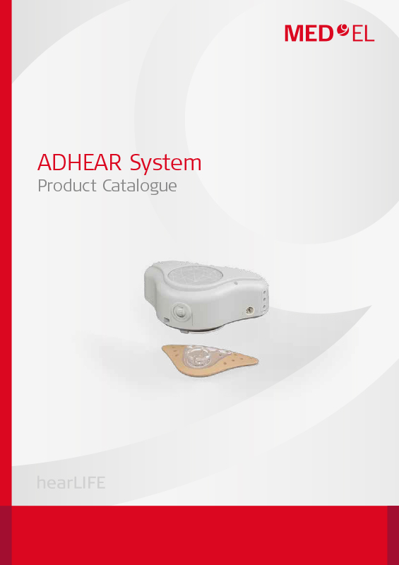 ADHEAR product catalogue