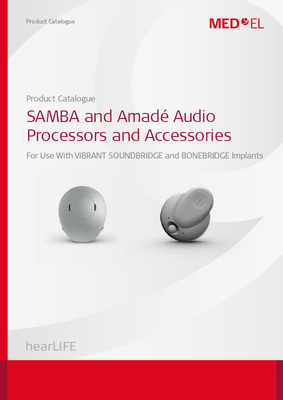 SAMBA Amadé Product Catalogue