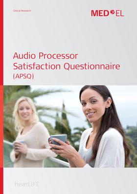 Audioprozessor-Zufriedenheitsfrageboge
